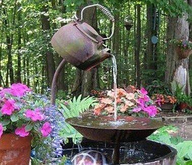 фонтан чайник