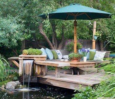 фонтаны и водоемы