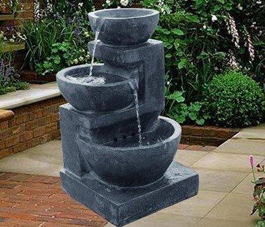фонтан с переливами