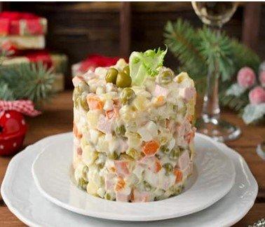 оливье салат