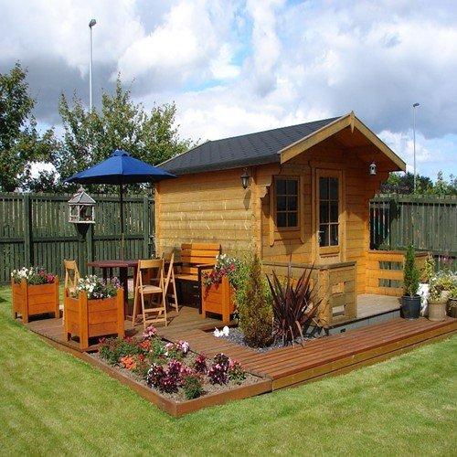 место для садовых посиделок