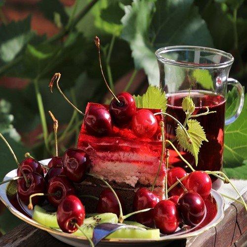 вишнёвый торт